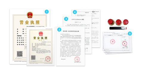 外资企业注册办好后所得资料